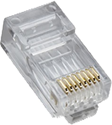 Platinum Tools 106163J    RJ45  Cat5e HP  Round-Stranded, 100-Pack