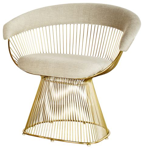 Platner Accent Chair