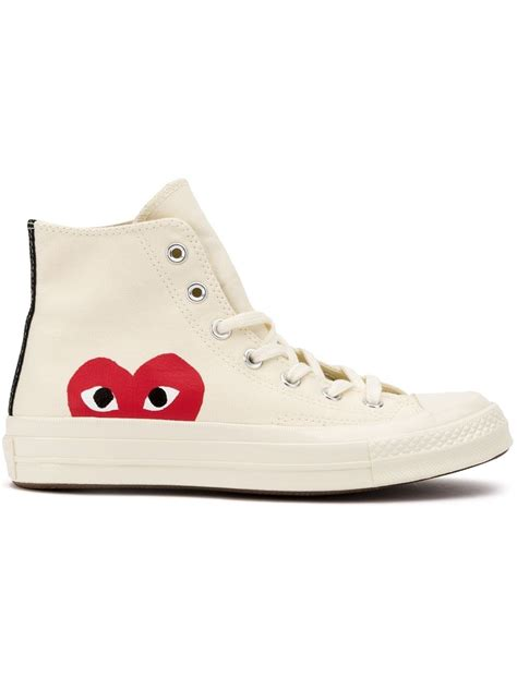 Play Comme Des Garcons Converse Sneakers