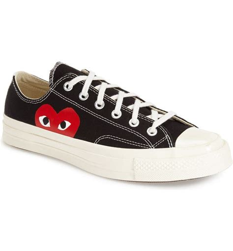 Play X Converse Chuck Taylor Low Top Sneaker Men