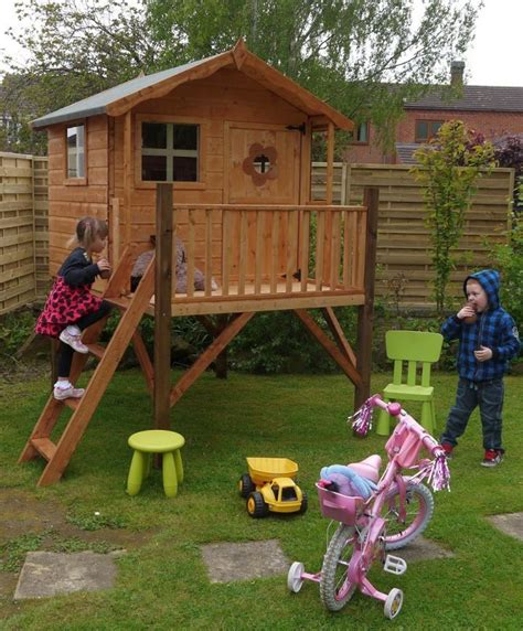 Playhouse On Stilts Diy