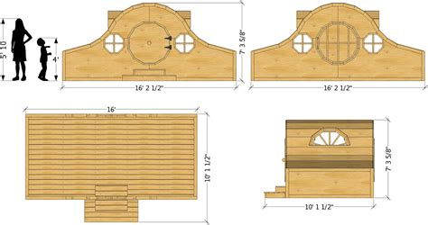 Playhouse Plans Hobbit