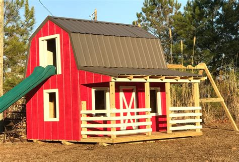 Playhouse-Barn-Plans