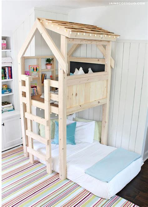 Playhouse-Bed-Building-Plans