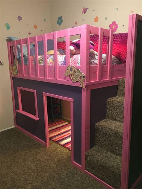 Playhouse-Bunk-Beds-Plans