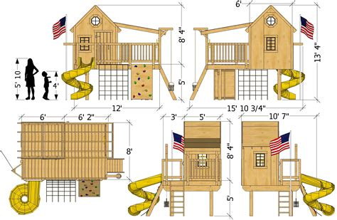 Playhouse-Dimensions-Plans
