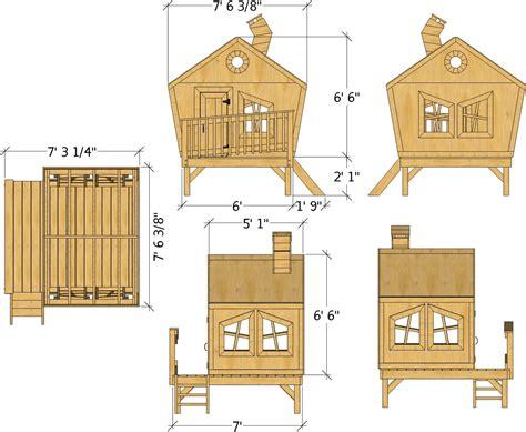 Playhouse-Plans-Free-Uk