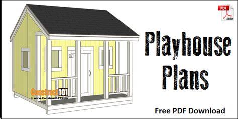 Playhouse-Plans-Pdf-Free