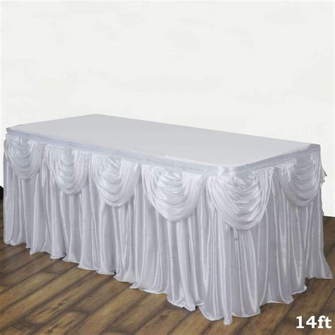 Pleated-Table-Skirt-Diy