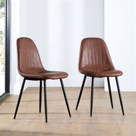 Pleather Dining Chairs