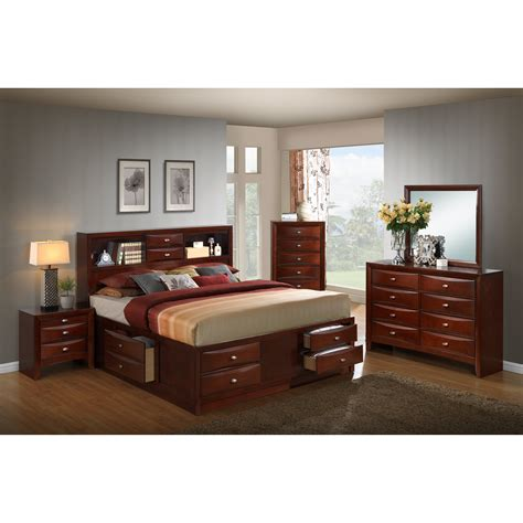 Plumcreek Panel 4 Piece Bedroom Set