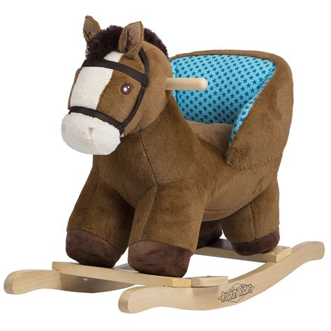 Plush rocking horse for baby Image