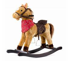 Best Plush rocking horse for baby