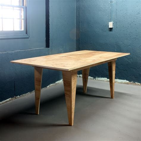 Ply Wood Dining Table Diy Plans