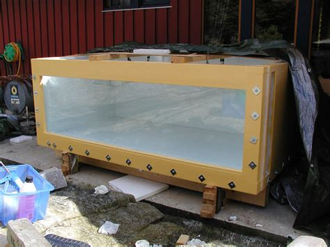 Plywood Aquarium Buildsite