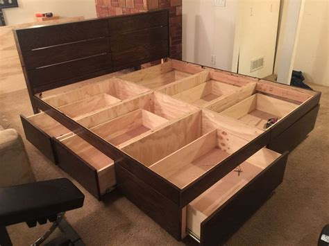 Plywood Bed Plans