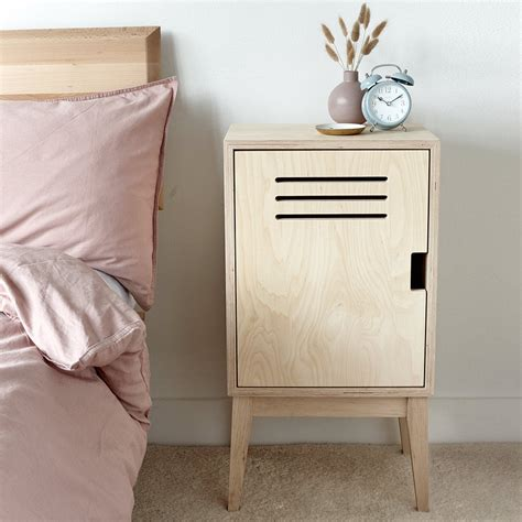 Plywood Bedside Table Plans