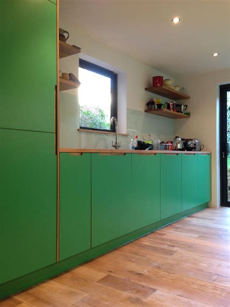 Plywood Cabinets Kitchen