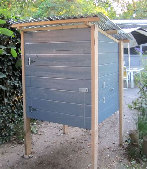Plywood Chicken Coop Design