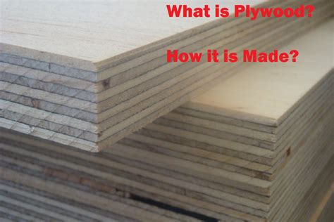 Plywood How Is It Made