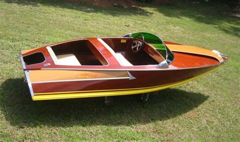 Plywood Mini Speed Boat Plans