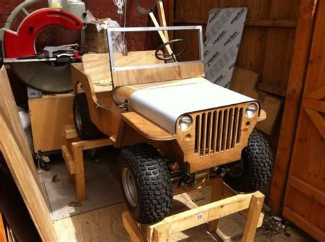 Plywood Plans To Build 4wd Mini Jeep