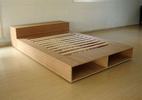Plywood Platform Bed Diy Easy