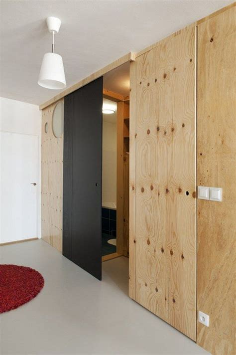 Plywood Sliding Door Diy