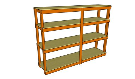 Plywood Storage Shelf Plans