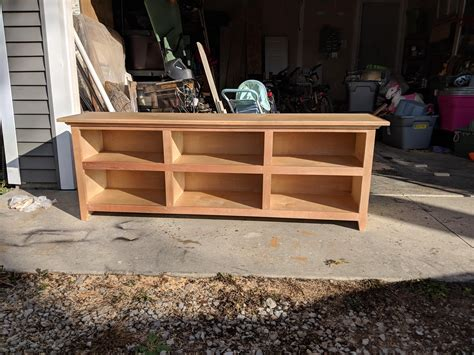 Plywood Tv Stand Plans Chart