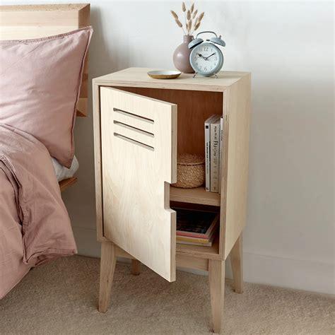 Plywood-Bedside-Table-Diy