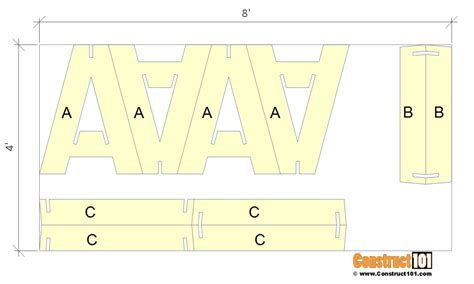 Plywood-Knock-Down-Sawhorse-Plans