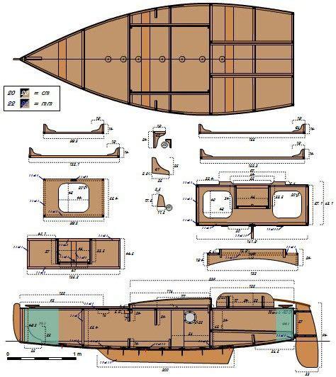 Plywood-Sailboat-Plans-Free