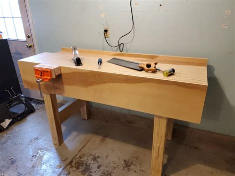 Plywood-Top-Woodworking-Bench