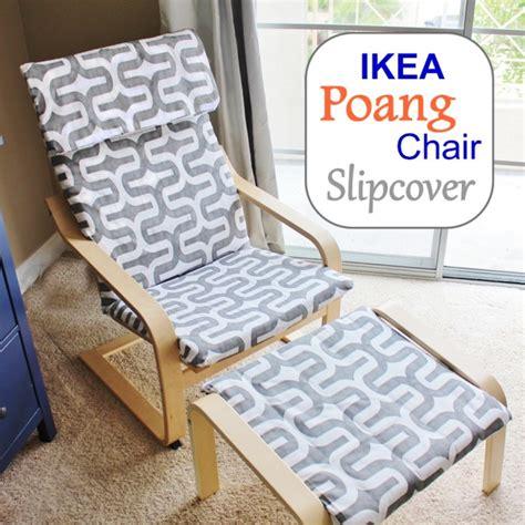 Poang-Chair-Slipcover-Diy