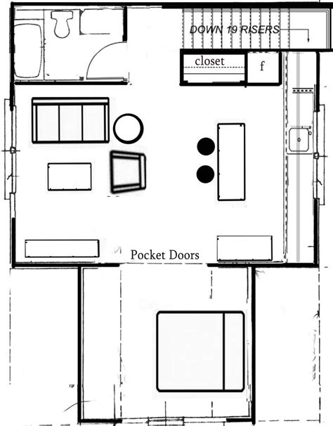 Pocket Doors In Floor Plan