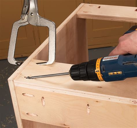 Pocket Hole Joinery Cabinet Making