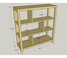 Best Pocket hole bookcase plans