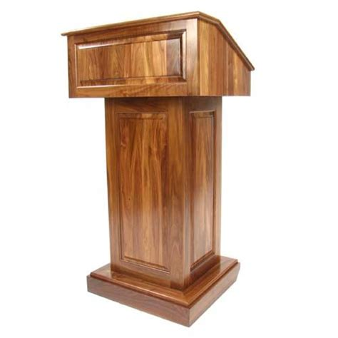 Podium Free Lectern Woodworking Plans