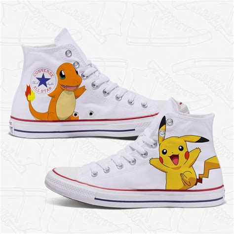 Pokemon Converse Sneakers