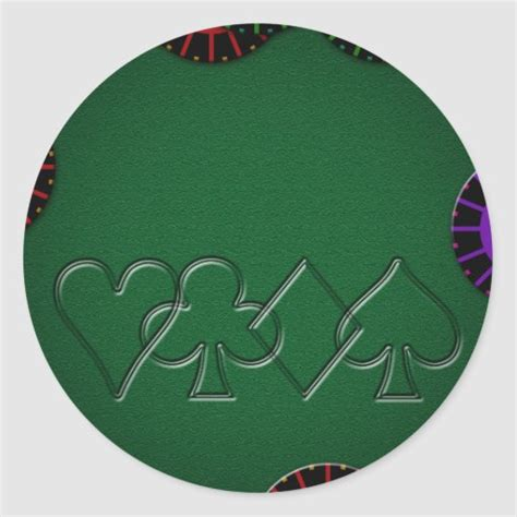 Poker Table Decals