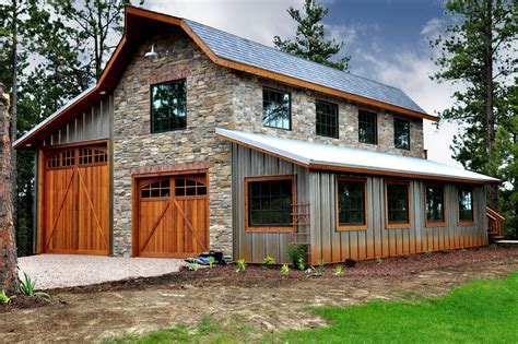 Pole Barn House And Garage Plans