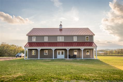 Pole Barn House Plans 2 Story