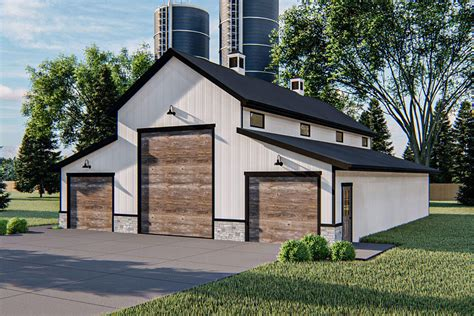 Pole Barn Style Garage Plans