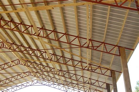 Pole Barn Trusses Plans