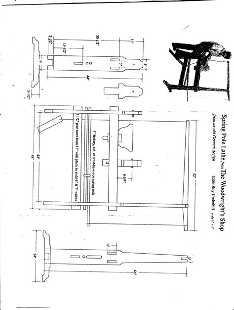 Pole Lathe Plans PDF