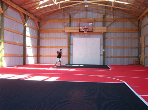 Pole-Barn-Basketball-Court-Plans
