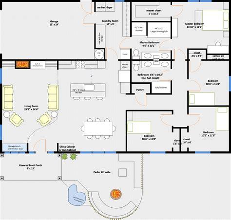 Pole-Barn-House-Floor-Plans-With-Garage