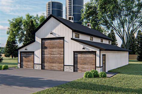 Pole-Barn-House-Plans-With-Rv-Garage