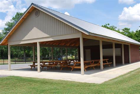 Pole-Barn-Pavilion-Garage-Plans